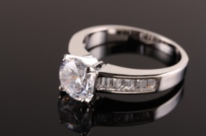 Asscher Wedding Ring