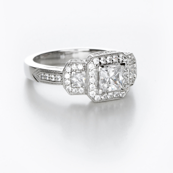 Pave Engagement Rings Settings