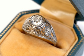 Engagement Ring Options -FIligree