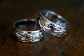 wedding rings made in hawaii - Hawaiian Wedding Rings