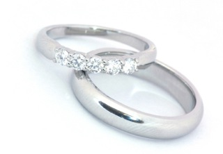wedding rings silver - Silver Wedding Rings