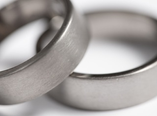 Titanium Wedding Rings Mens Womens Titanium Wedding Bands